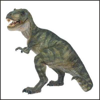 Tyrannosaurus Rex tiranosaurio trex cuerpo