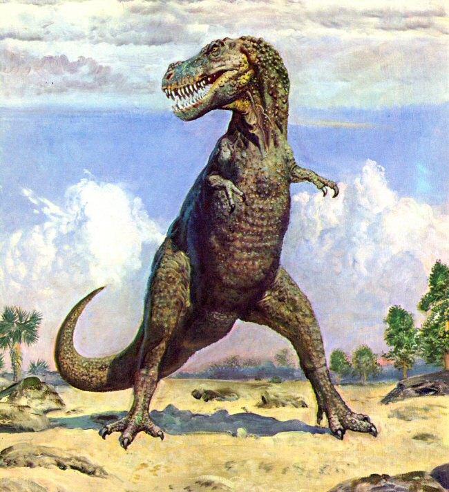 Tyrannosaurus Rex tiranosaurio trex dinosaurio