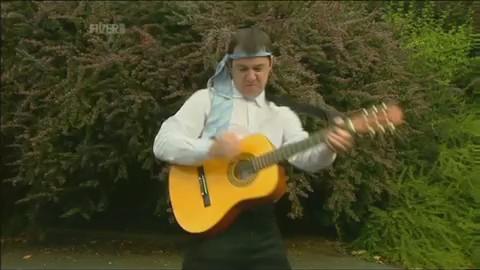 broma risa video humor guitarra