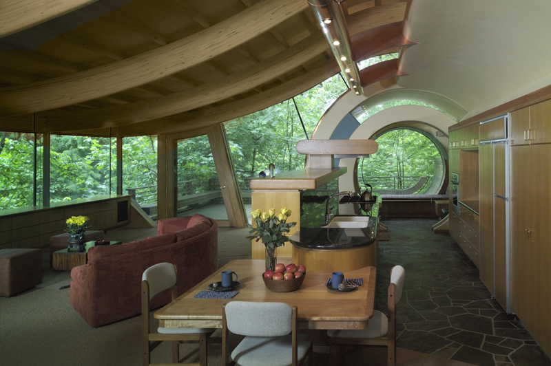 casa madera Robert Harvey Oshatz 1