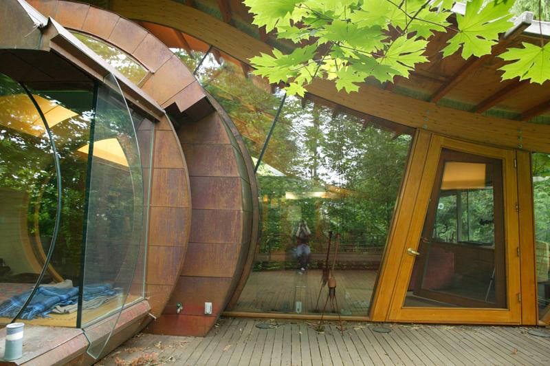 casa madera Robert Harvey Oshatz 3
