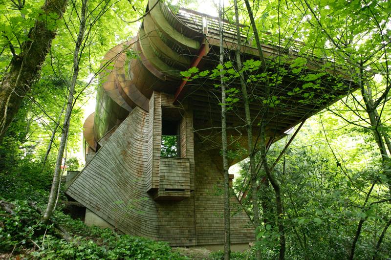 casa madera Robert Harvey Oshatz