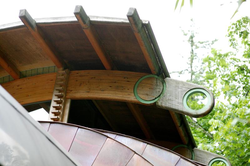 casa madera wilkinson arboles bosque 3