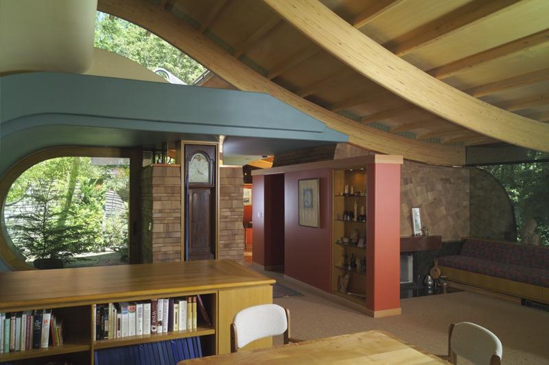 casa madera wilkinson arboles bosque 4