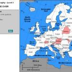 Juego para aprender geografía de Europa
