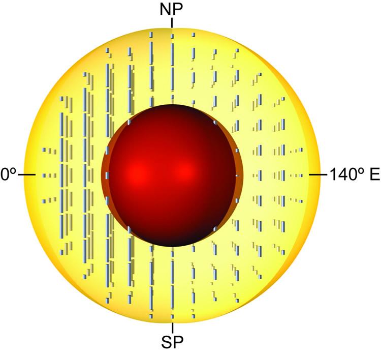 geologia geofisica nucleo tierra magnetismo