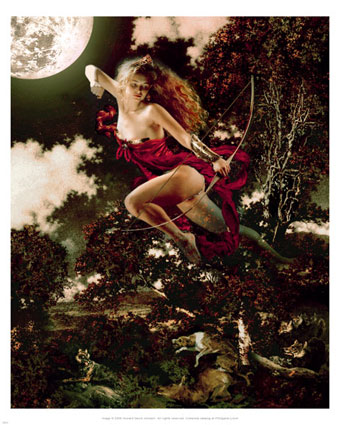 howard-david-johnson-moon-goddess-diana-posters
