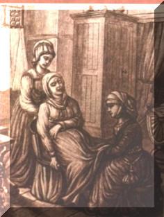 imagen parto siglo XV renacimiento