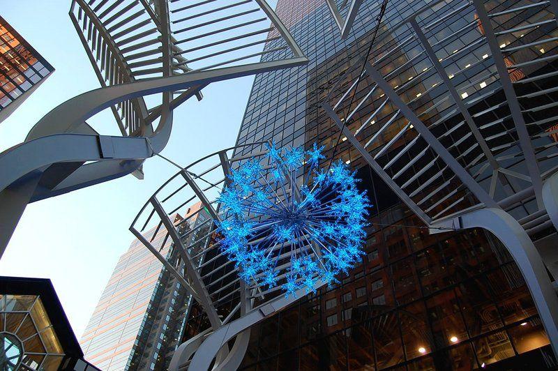 imagenes-arte-copo-nieve-estrella-azul