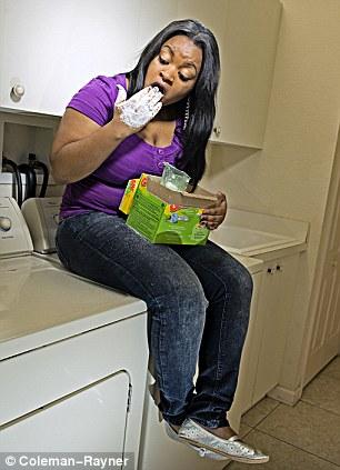 tempestt henderson detergente ingerir adiccion