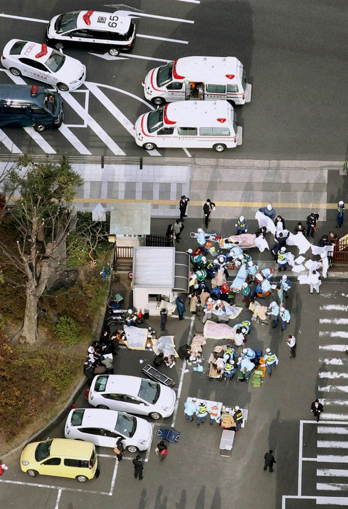 terremoto japon 11 2011 marzo heridos tokio