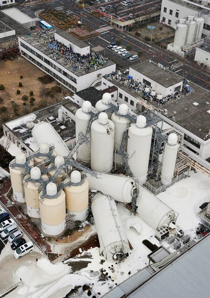 terremoto tsunami japon 11 2011 marzo fabrica cerveza