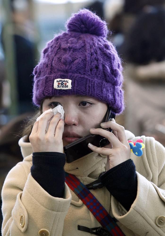 terremoto tsunami japon 11 2011 marzo mujer llorando