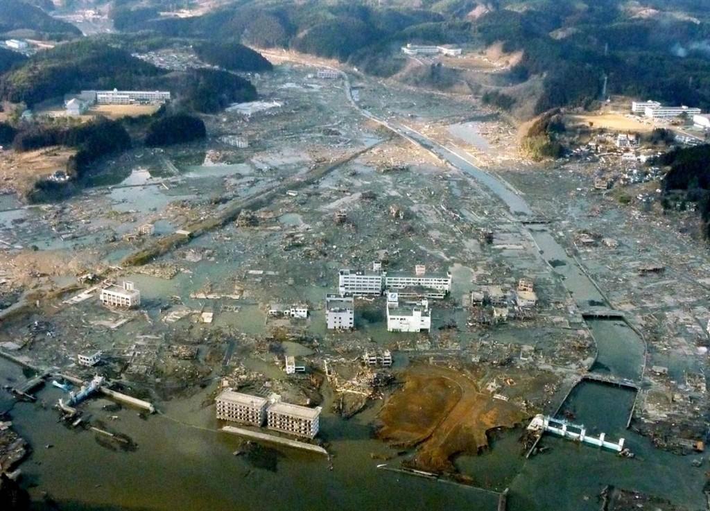 terremoto tsunami japon 2011 marzo 12 Minamisanriku inundada miyagi