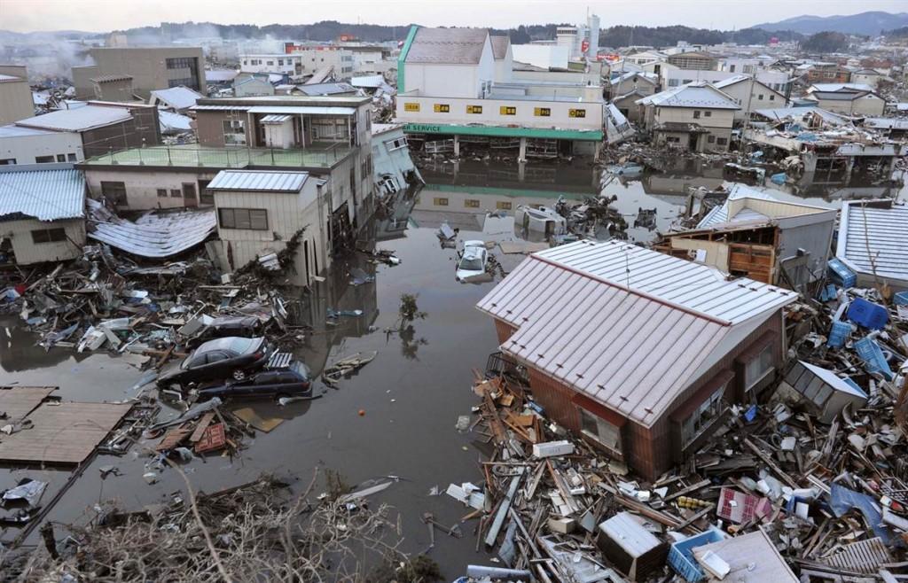 terremoto tsunami japon 2011 marzo 12 casas kesennuma escombros