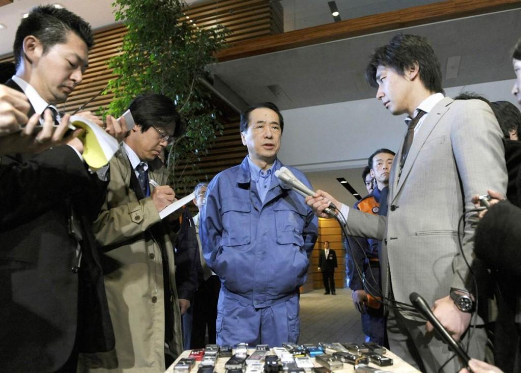 terremoto tsunami japon 2011 marzo 12 naoto kan medios comunicacion