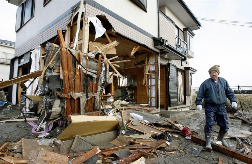 terremoto tsunami japon 2011 marzo 12 natori casa destrozada