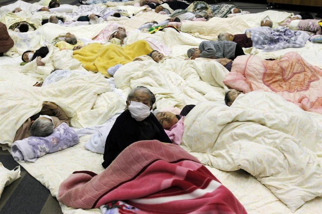terremoto tsunami japon 2011 marzo 13 enfermos koriyama