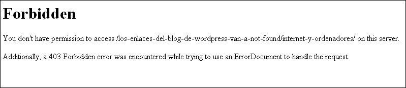 wordpress-error-forbidden-not-found