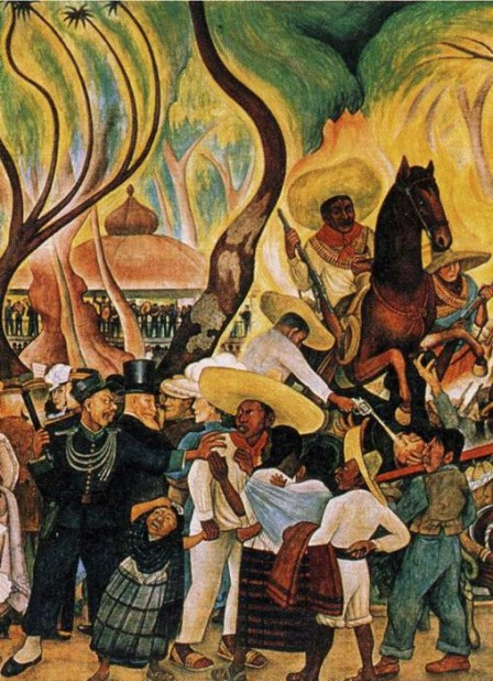 Dream of a Sunday Afternoon in Alameda_Park diego rivera mural