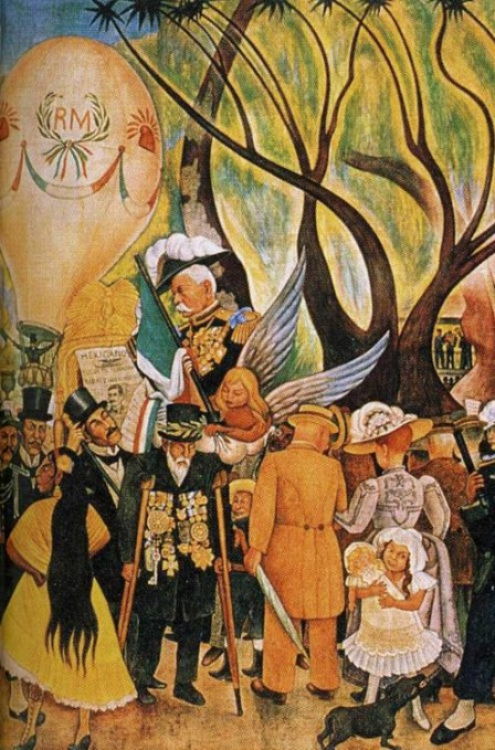 Dream of a Sunday Afternoon in Alameda_Park diego rivera