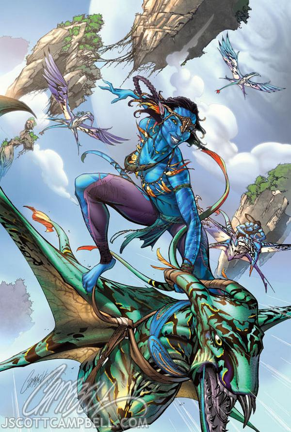 Jeffrey Scott Campbell comic avatar