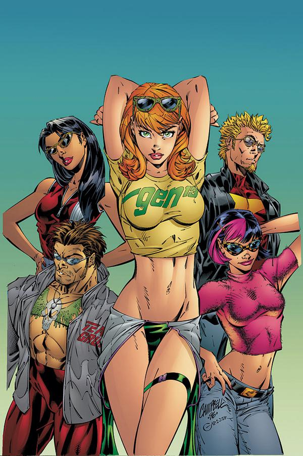Jeffrey Scott Campbell comic gen 13
