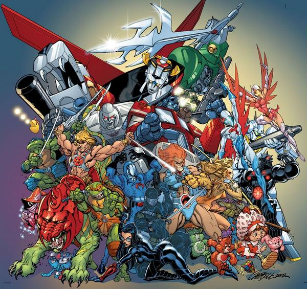 Jeffrey Scott Campbell comic heroes
