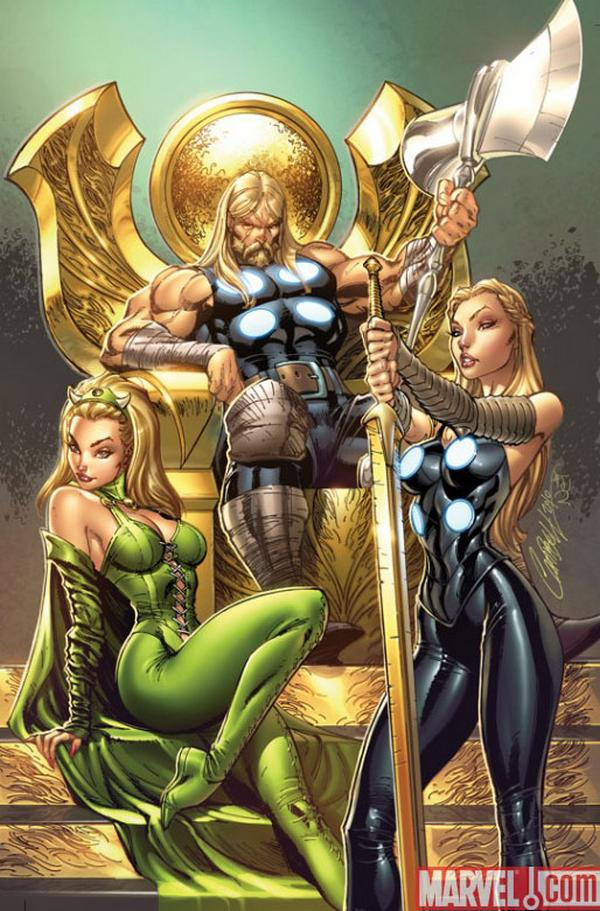 Jeffrey Scott Campbell comic thor