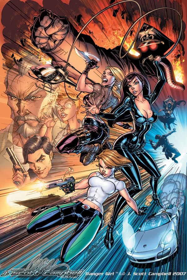 Jeffrey Scott Campbell heroina danger girl