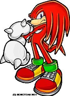 Knuckles echidna sonic