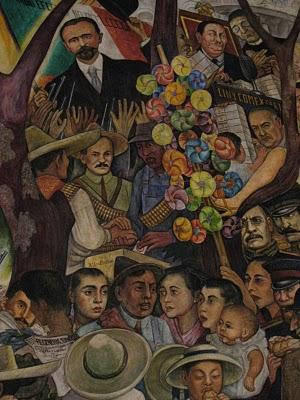 Sueno de una tarde Dominical en la Alameda madero decena tragica
