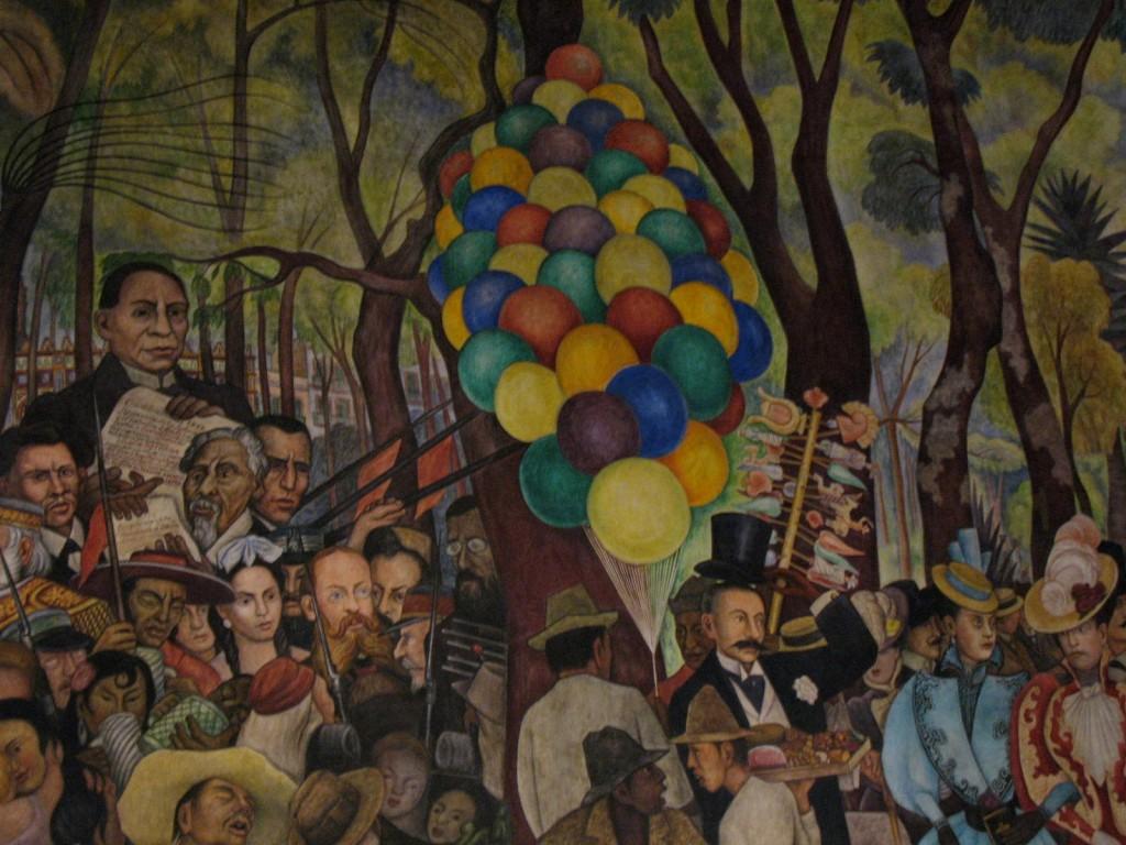 Sueno de una tarde Dominical en la Alameda mural