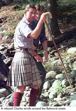 carlos charles principe kilt falda escocesa