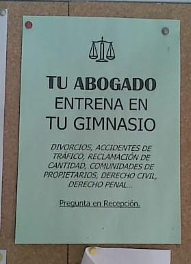 cartel nota abogado-gimnasio