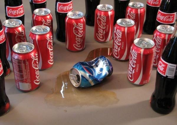 coca cola pepsi batalla