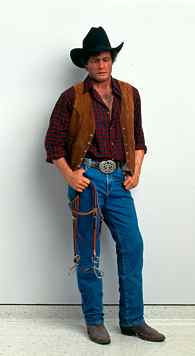duane hanson escultura figura cowboy