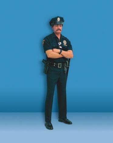 duane hanson escultura figura policia