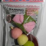 Goma de borrar japonesa de comida y bebida