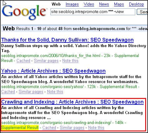 google-supplemental-index
