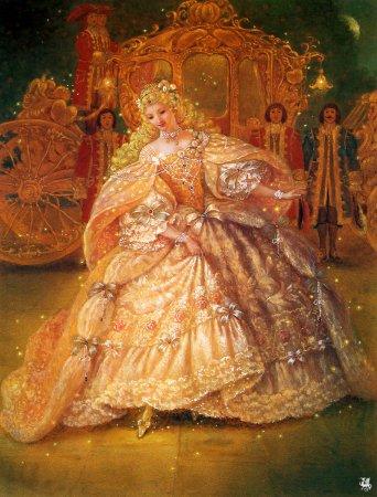 ilustraciones-cuentos-leyendas-historias-imagenes-cenicienta-baile-vestido-carruaje