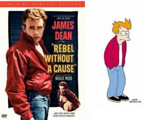 james dean fry rebelde sin causa