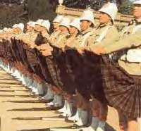 kilt falda escocesa accidente humor ejercito
