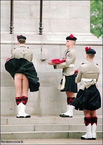 kilt falda escocesa humor accidente viento