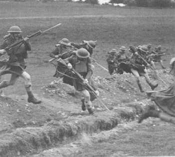 kilt faldas escocesas militares guerra