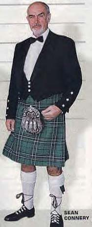 kilt sean connery falda escocesa