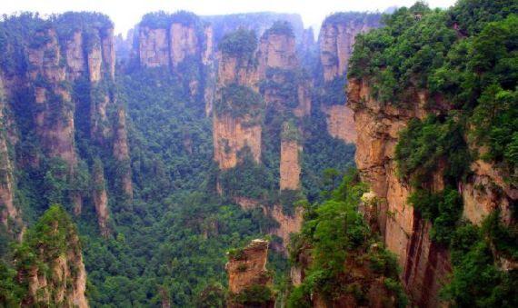montanas pandora Zhangjiajie hunan china