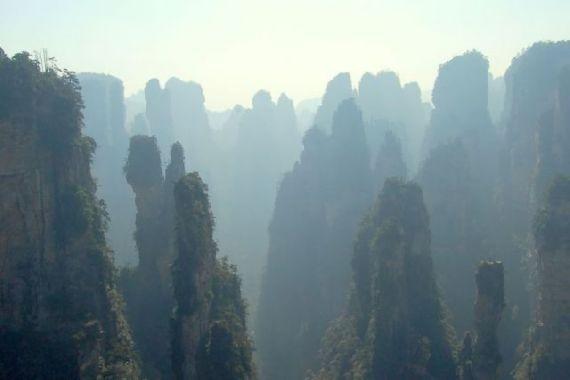 montanas pelicula avatar reales china