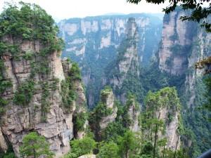 montanas reales china inspiracion avatar pelicula