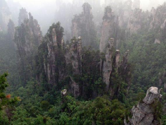 mountains avatar Zhangjiajie hunan china